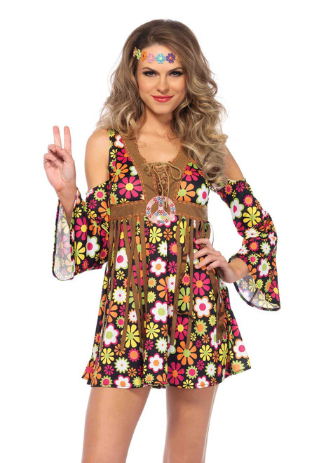 Starflower Hippie Women's Halloween Costume