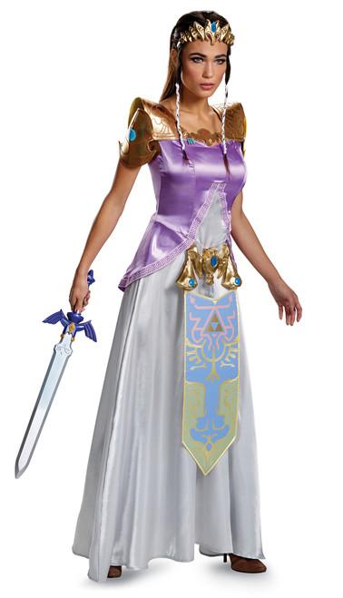 Zelda Deluxe Women's Costume