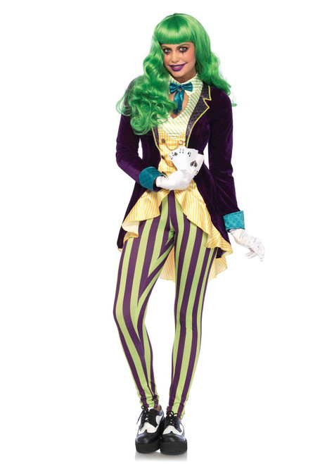Wicked Trickster Ladies' Joker Costume