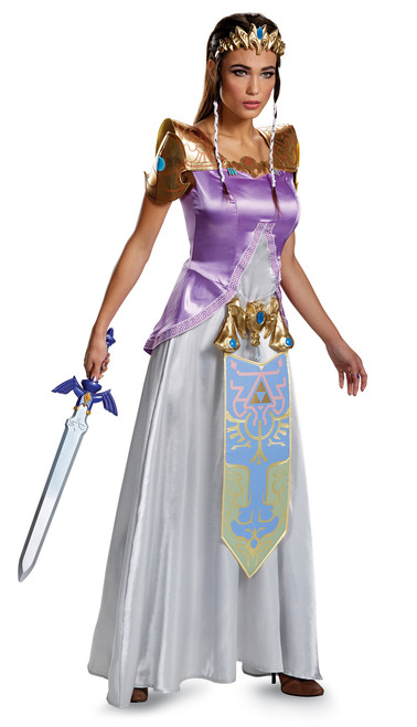 Teen Princess Zelda Deluxe Costume