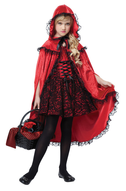 Deluxe Red Riding Hood Children's Costume