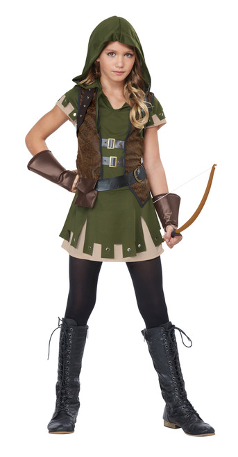 Children's Miss Robin Hood Costume
