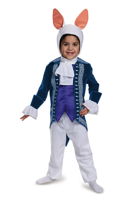 Toddler/Children's Deluxe White Rabbit Alice Through the Looking Glass Costume