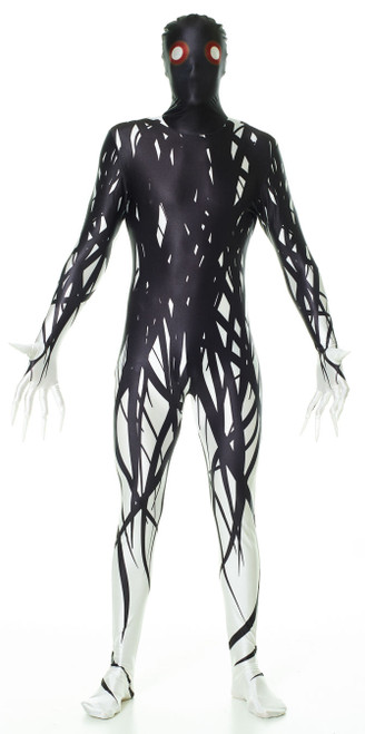 Zalgo Creepy Morphsuit Costume