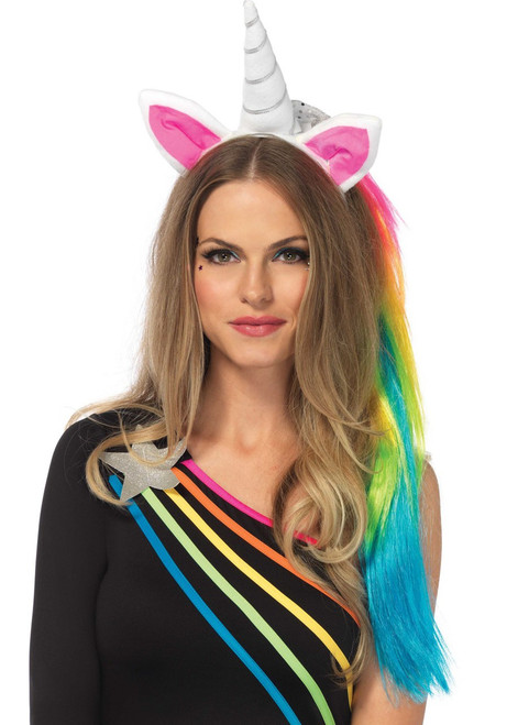 Magical Rainbow Unicorn Headband