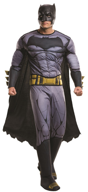 Deluxe Muscle Batman Dawn of Justice Mens Costume