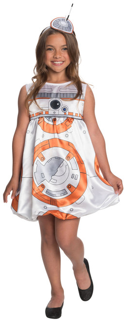 Kids BB-8 Star Wars Dress Costume