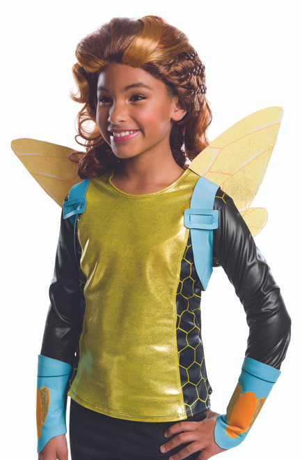 Children's Bumble Bee DC Superhero Wig