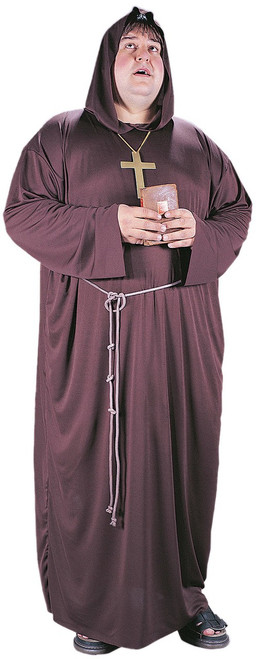 Men's Plus Monk Costume