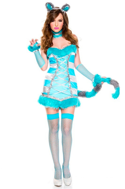 Cheery Cheshire Cat Ladies Costume