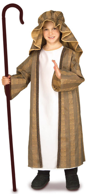 Childs Shepherd Boy Nativity Costume