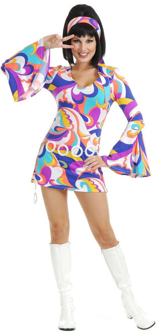 Ladies 70s Disco Hottie Costume