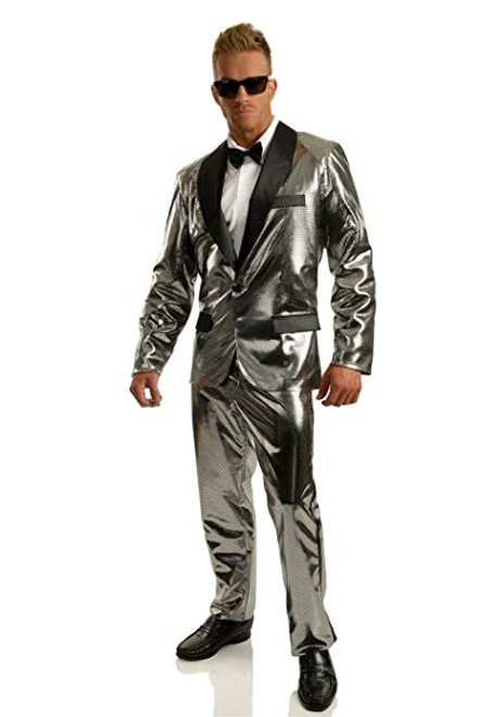 Mens 70s Disco Ball Jacket Costume