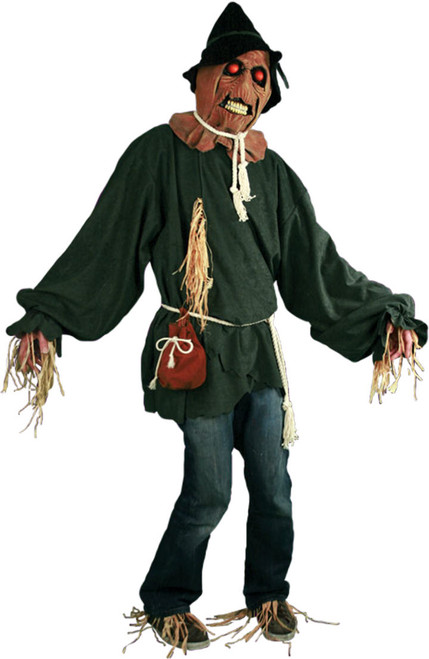 Deluxe Scary Scarecrow Mens Costume