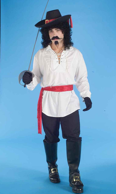 White Swash Buckler Pirate Shirt