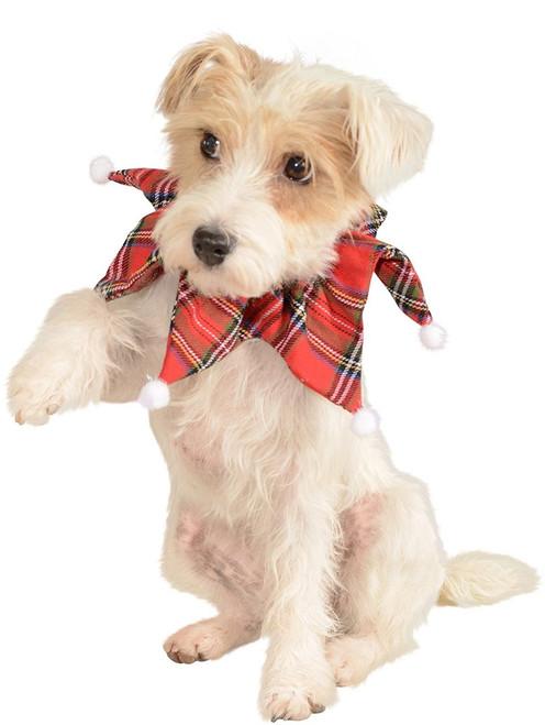 Christmas Plaid Pet Collar