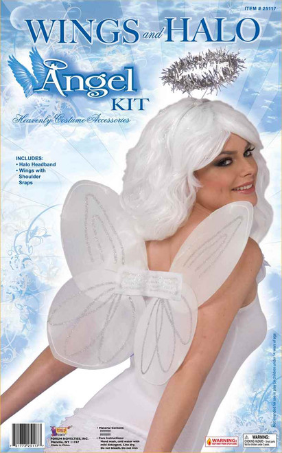 Adult Angel Wings and Halo Kit