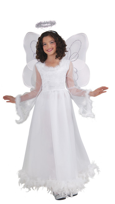 Children's Angel Wings and Tinsel Halo Kit
