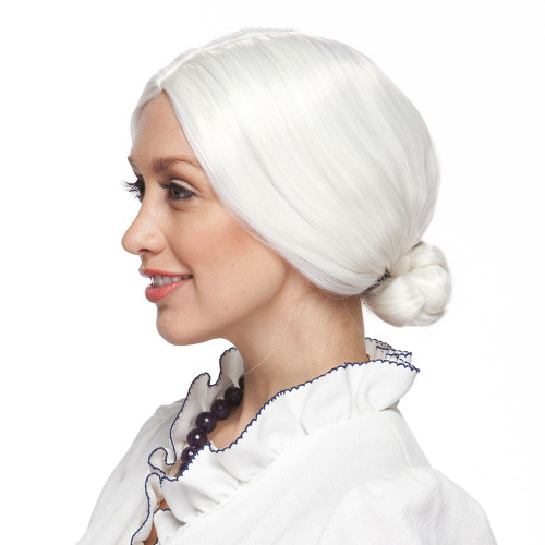 Old Lady White Wig