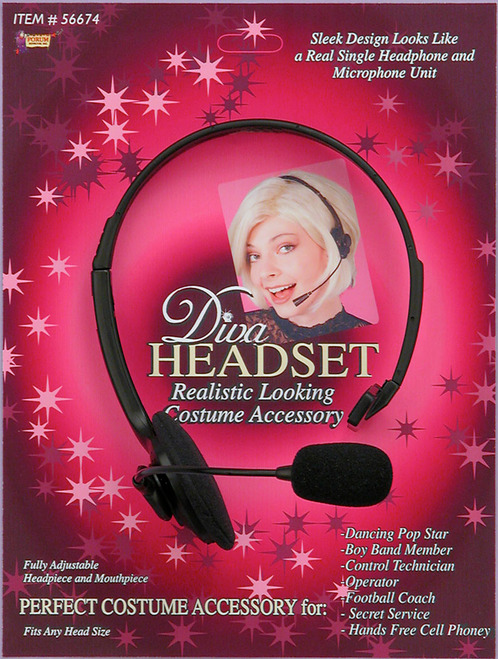 Diva Singer Headset Accessory