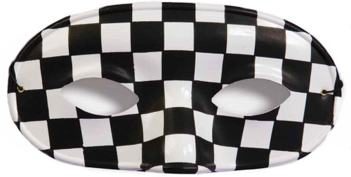 Checkered Domino Mask