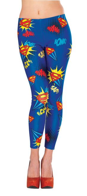 Adult Supergirl Superhero Leggings