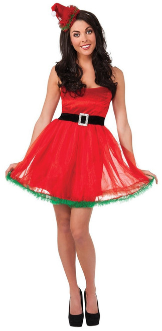 Adorable Santa Tutu Dress Costume