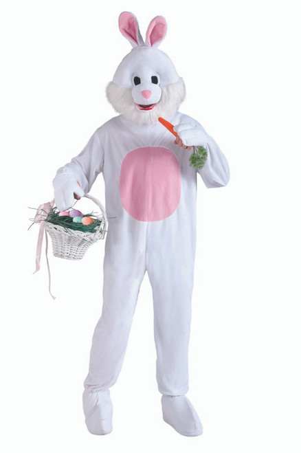 Adult Mascot Easter Bunny Costume