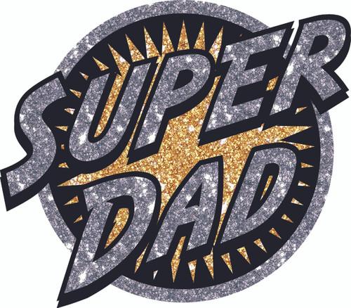Super Dad Heat Transder Patch