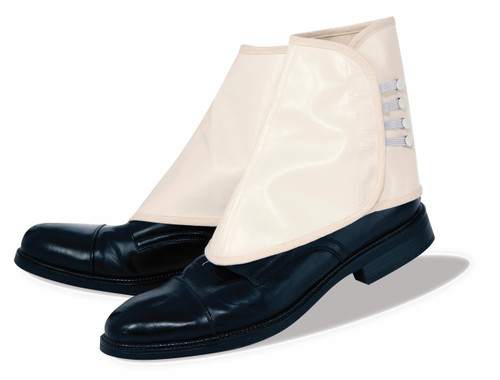 Deluxe White Gangster Spats