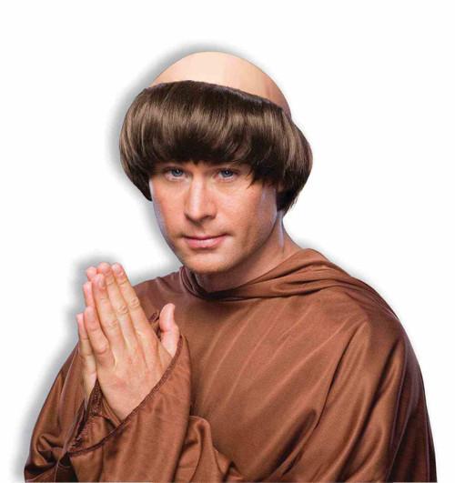 Brown Monk Wig