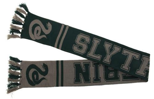 Slytherin Reverse Knit Scarf