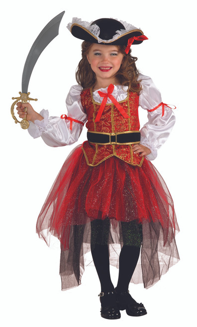 Girls Princess of the Seas Pirate Costume