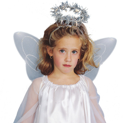 Children's Cute Angel Wings and Halo Kit