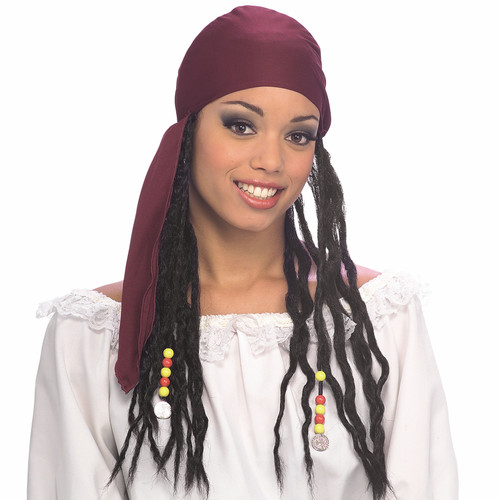 Pirate Bandanna with Dreads