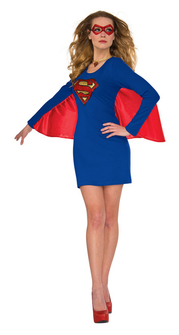 Supergirl Winged Costume Dress