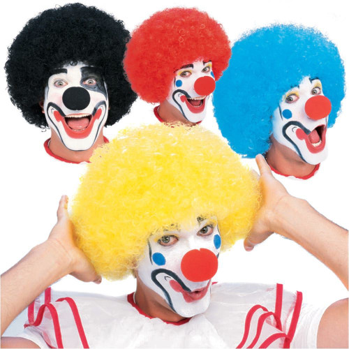 Clown Wig - 4 Colours!
