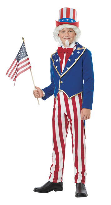 Kids Uncle Sam American Costume