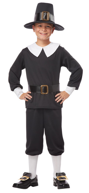 Children's Pilgrim Boy Costume
