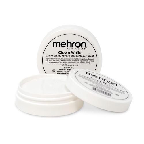 Mehron White Clown Cream Makeup - 2.25oz