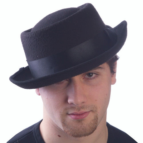 Wool Badness Pork Pie Hat