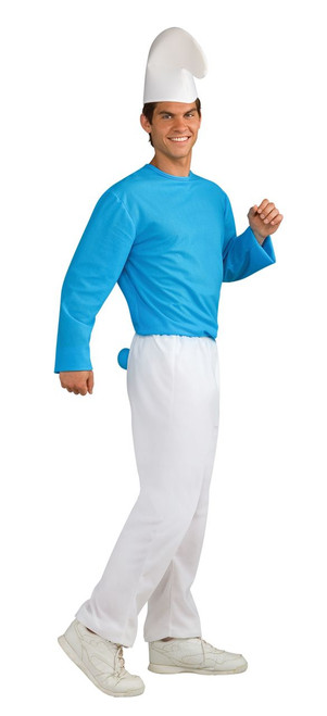 Adult Smurfs: The Lost Village Smurf Costume