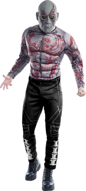 Adult Deluxe GOTG2 Drax Costume