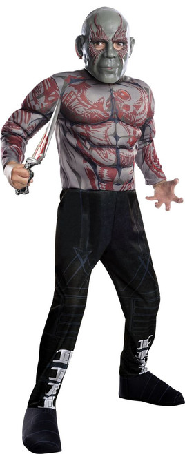 Deluxe Drax GOTG2 Kids Costume
