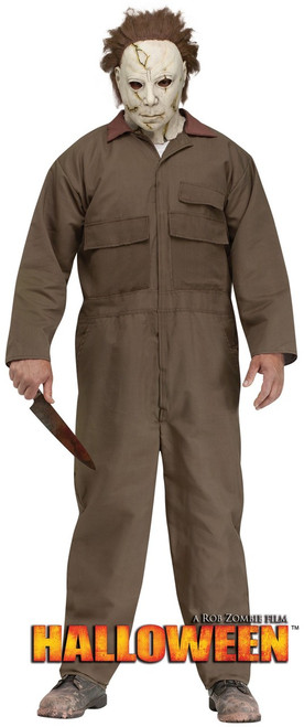 Adult Michael Myers Halloween Deluxe Costume