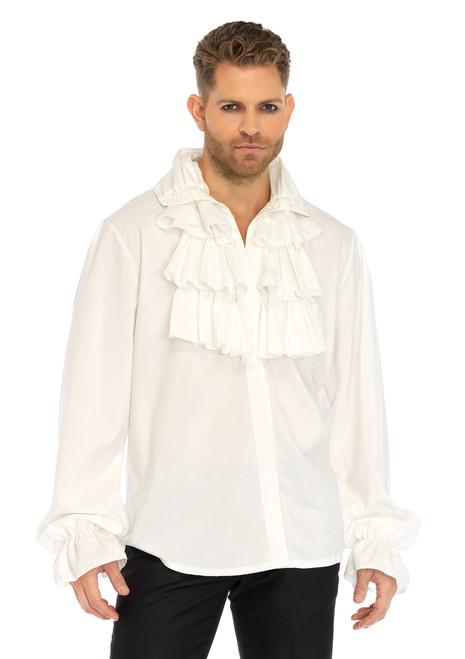 Mens Ruffle Front Pirate or Vampire Shirt
