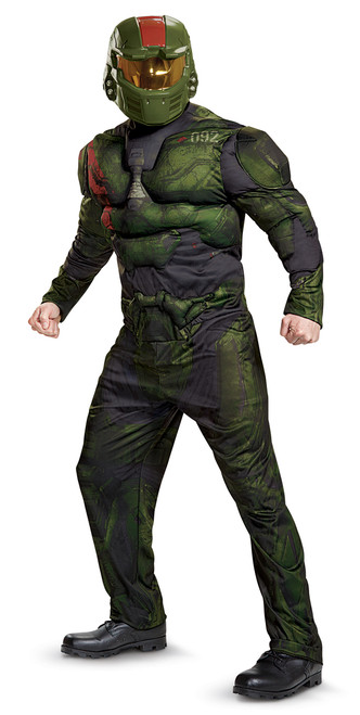 Teen Jermone Halo Wars 2 Muscle Costume