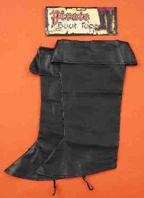 Black Pirate Boot Top