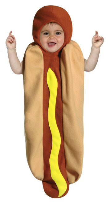 Infant's Hot Dog Bunting Costume