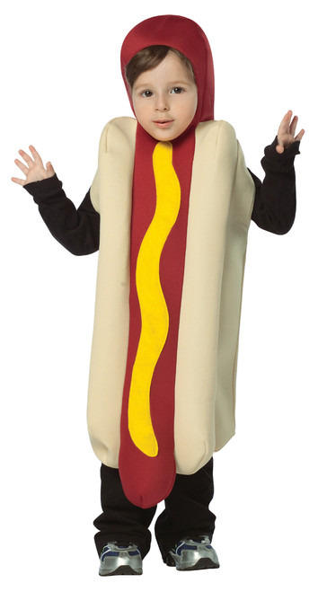 Toddler's Hot Dog Costume